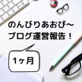 1ヶ月目でアドセンス合格!のんびりあおぴ〜ブログ運営報告!